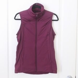lululemon Run for Cold Vest, plum